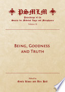 Being  Goodness and Truth  Volume 16
