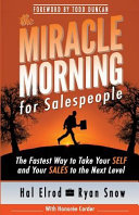 The Miracle Morning for Salespeople Book