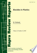 Biocides in Plastics