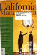 California Management Review Book PDF