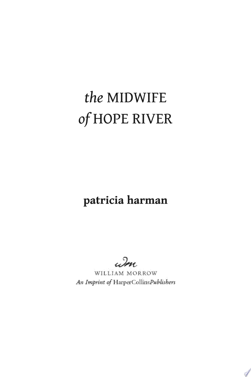 The Midwife of Hope River banner backdrop