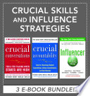 Crucial Skills and Influence Strategies Book
