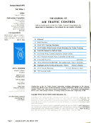 The Journal of Air Traffic Control Book