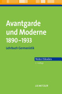 Avantgarde und Moderne 1890–1933
