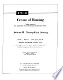 1960 Census of Housing, Taken as a Part of the Eighteenth Decennial Census of the United States