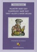 Palmistry Made Easy Guide, Numerology Made Easy, Tarot Major & Minor Arcana