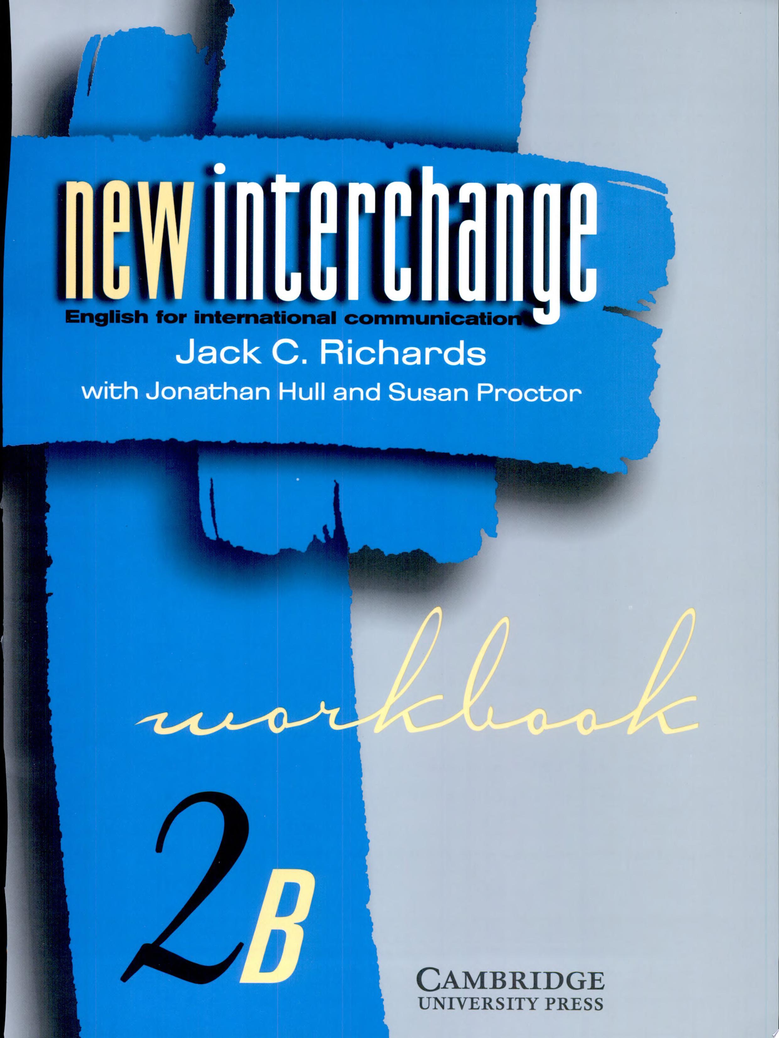 New Interchange Workbook 2B