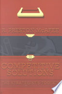 Cover of Competitive Solutions