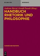 Handbuch Rhetorik und Philosophie