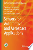 Sensors for Automotive and Aerospace Applications Book