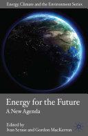 Energy for the Future Pdf/ePub eBook