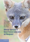 Molecular Approaches in Natural Resource Conservation and Management Book
