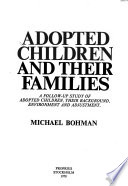 Adopted children and their families