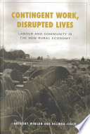 Contingent Work  Disrupted Lives Book PDF