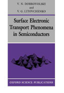 Surface Electronic Transport Phenomena in Semiconductors