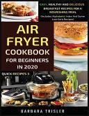 Air Fryer Cookbook For Beginners In 2020