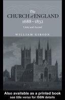 The Church of England 1688-1832