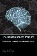 The Consciousness Paradox