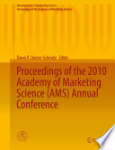 Proceedings of the 2010 Academy of Marketing Science  AMS  Annual Conference