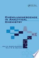 Chemiluminescence in Analytical Chemistry