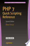 PHP 7 Quick Scripting Reference