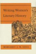 Writing Women s Literary History