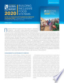 2020 Global food policy report: Building inclusive food systems: Synopsis [in Russian]