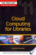 Cloud Computing for Libraries