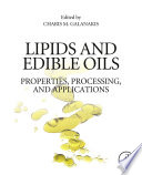Lipids and Edible Oils
