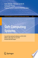 Soft Computing Systems Book