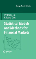 Statistical Models and Methods for Financial Markets