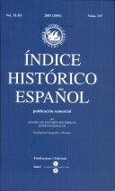 indice historico espanol