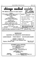 The Bulletin of the Chicago Medical Society