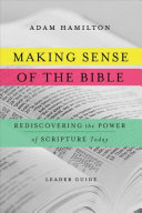 Making Sense of the Bible  Leader Guide  Book