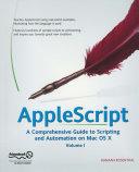 AppleScript Pdf/ePub eBook