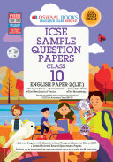 Oswaal ICSE Sample Question Papers Class 10 English Paper 2 Literature (For March 2020 Exam)