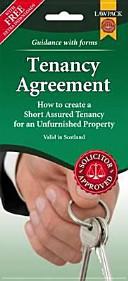 Unfurnished Tenancy Agreement Form Pack  Scotland