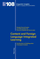 Content and Foreign Language Integrated Learning