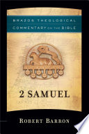 2 Samuel Brazos Theological Commentary On The Bible