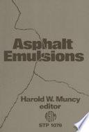 Asphalt Emulsions