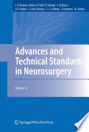 Advances and Technical Standards in Neurosurgery Book
