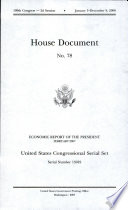 United States Congressional Serial Set Serial No 15019 House Document No 78 Economic Report Of The President February 2007