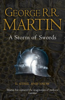 A Storm of Swords: Part 1 Steel and Snow (A Song of Ice and Fire, Book 3) image