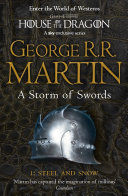 A Storm Of Swords Part 1 Steel And Snow A Song Of Ice And Fire Book 3