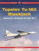Tupolev Tu-160 Blackjack