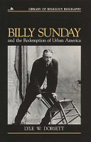 Pdf Billy Sunday and the Redemption of Urban America