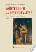Wörterbuch der Psychoanalyse