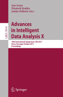 Pdf Advances in Intelligent Data Analysis X Telecharger