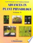 Advances In Plant Physiology  Vol  5