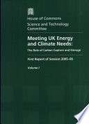 Meeting UK Energy and Climate Needs